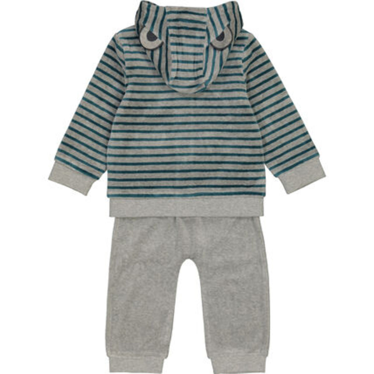 Bild 2 von MANGUUN Anzug-Set, 3-teilig, Nicki-Stoff, für Baby Jungen