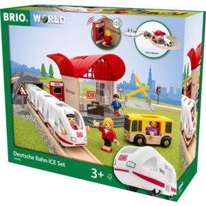 BRIO World - Holzeisenbahn Deutsche Bahn ICE-Set