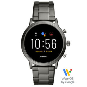 "Fossil Herren Touchscreen Smartwatch Carlyle HR ""FTW4024"""