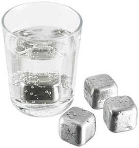 SPICE&SOUL®  Edelstahl-Eiswürfel
