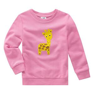 Baby Sweatshirt mit Giraffen-Motiv