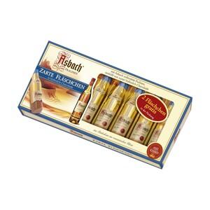 Asbach Pralinés Zarte Fläschchen 8 + 2 Fläschchen gratis, jede 125-g-Packung