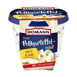 Homann Weißkrautsalat oder Feiner Pellkartoffelsalat und weitere Sorten jede 400-g-Packung