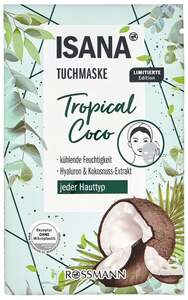 ISANA Tuchmaske Tropical Coco