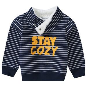 Baby Sweatshirt im Streifen-Look