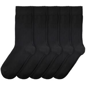 5 Paar Herren Socken mit Sortierhilfe