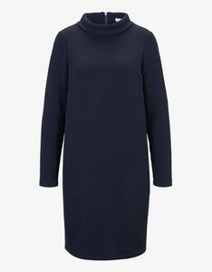Tom Tailor - Kleid in Strukturoptik mit Turtleneck