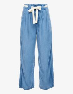 s.Oliver - Culotte-Hose in Denim-Optik