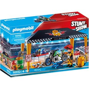 Playmobil® 70552 - Stuntshow Werkstattzelt - Playmobil® Stunt Show