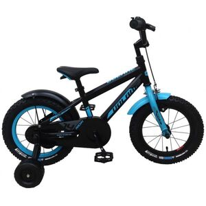 Fahrrad - Volare Rocky - 14 Zoll - schwarz/blau