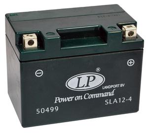 Landport SLA 12-4S Motorrad Batterie, 12 V 4 AH