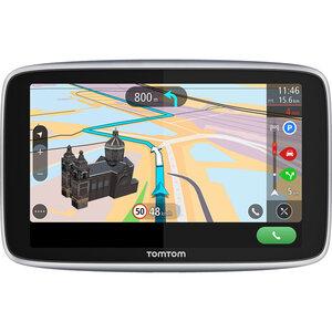 TomTom Go Premium 6 World Navigationsgerät mit Wi-Fi® Update-Funktion, lebenslangen Karten-Updates (1), Fahrzeugsuche, IFTTT Integration, Freisprechanlage und vielem mehr