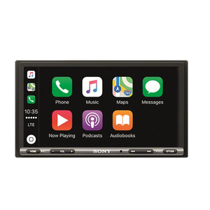 "Sony XAV-AX3005ANT Autoradio/Mediacenter mit Sprachsteuerung, DAB-Empfänger, Bluetooth, 17,7 cm (6,95"") Touchscreen-Display, Apple CarPlay/Android Auto, Navigation, 2-DIN"