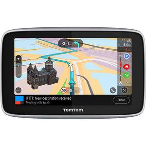 TomTom Go Premium 5 World Navigationsgerät mit Wi-Fi® Update-Funktion, lebenslangen Karten-Updates (1), Fahrzeugsuche, IFTTT Integration, Freisprechanlage und vielem mehr