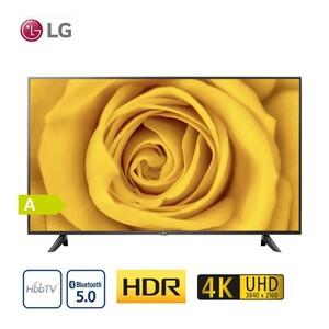 65UN70006LA (Google-Assistant und Amanzon-Alexa nur mit Magic-Remote-FB) · TV-Aufnahme über USB · 3 x HDMI, 2 x USB, CI+ · integr. Kabel-, Sat- und DVB-T2-Receiver · Maße: H 84,4 x B 146 x T 8,