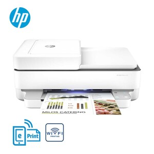 HP ENVY Pro 6430 All-in-One-Drucker · Drucken, Scannen, Kopieren, mobiler Faxversand · Optimale Produktivität und Zuverlässigkeit · bis zu 10 Seiten pro Minute schwarzweiß · automatischer beid