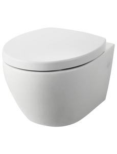 Wand-WC-Set (Wand-WC spülrandlos, WC-Sitz, Befestigungssatz)