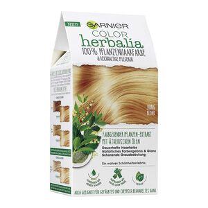Garnier Color Herbalia 100% Pflanzenhaarfarbe und Pflegekur Honigblond