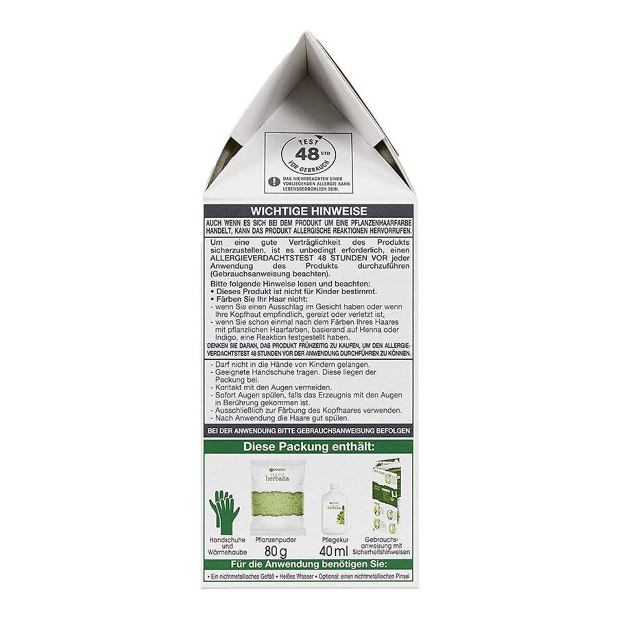 Bild 2 von Garnier Color Herbalia 100% Pflanzenhaarfarbe und Pflegekur Honigblond