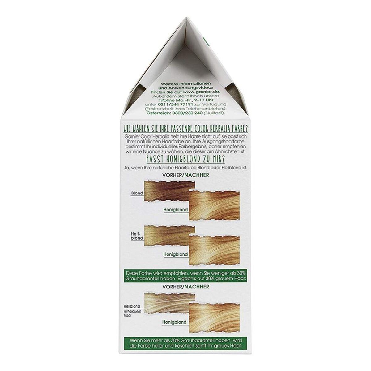 Bild 3 von Garnier Color Herbalia 100% Pflanzenhaarfarbe und Pflegekur Honigblond