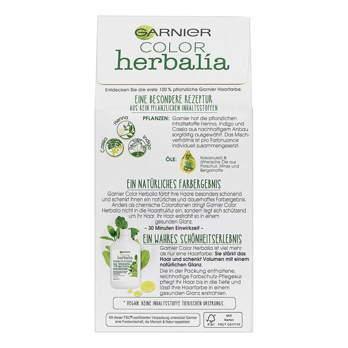 Bild 4 von Garnier Color Herbalia 100% Pflanzenhaarfarbe und Pflegekur Honigblond