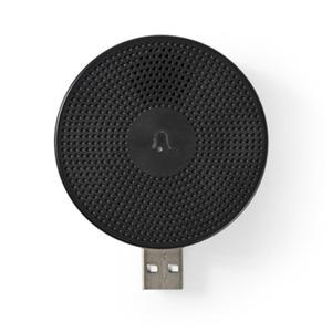Nedis Drathloser Türgong (WIFICDPC10BK) - Zubehör für WIFICDP10GY, USB