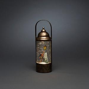 Konstsmide LED-Schneelaterne Charles Dickens