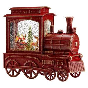 Markslöjd LED-Schneelaterne Lokomotive