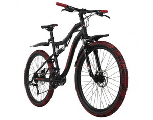 KS Cycling Mountainbike Fully 26 Zoll Crusher 21 Gänge
