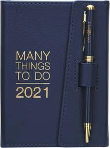 IDEENWELT Terminplaner 2021 dunkelblau