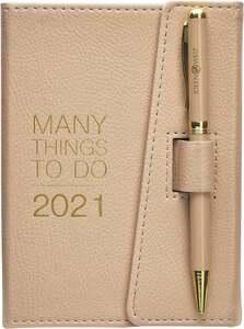 IDEENWELT Terminplaner 2021 beige
