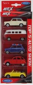 IDEENWELT 5er Set Modellautos