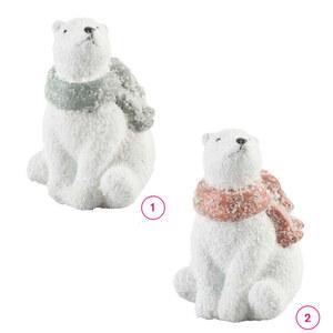 Eisbär Glitzeroptik in verschiedenen Varianten