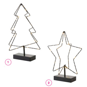 ProVida LED-3D Deko in verschiedenen Varianten