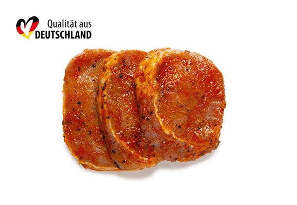 BBQ Wintersteaks vom Schwein
