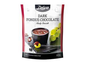 Schokolade für Fondue