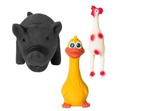 ZOOFARI® Hundespielzeug, 30-teilig, aus Gummi