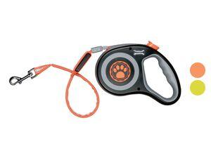 ZOOFARI® Hundeleine, mit Rückzugsmechanismus und LED