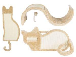 ZOOFARI® Kratzbrett, aus Sisal und Plüsch