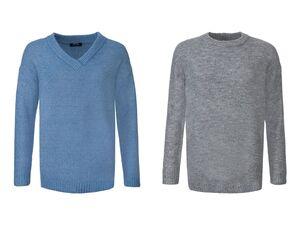 ESMARA® Pullover Damen, im Oversize-Look, mit Elasthan