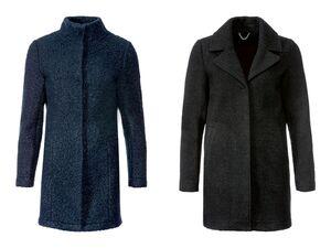 LIVERGY® Mantel Damen, mit verdeckten Druckknöpfen