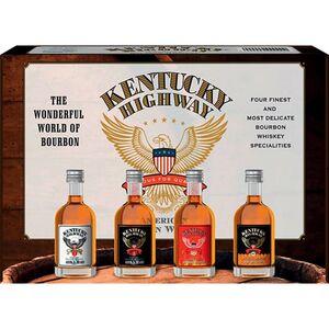 Kentucky Highway Whiskey Box 40,0 % vol 4 x 50 ml