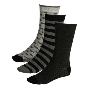 Mexx Socken 3er black/grey 42/45