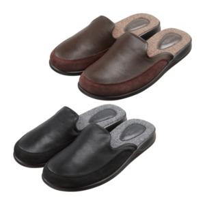 WALKX     Leder-Pantoffeln