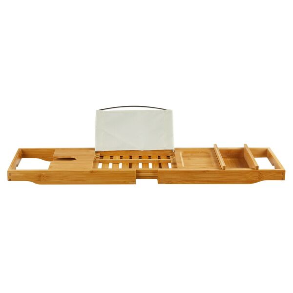 EASY HOME®  Bambus-Badewannenablage