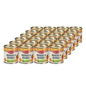 Beste Ernte Mandarin-Orangen leicht gezuckert 175 g, 24er Pack
