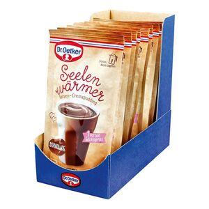 Dr. Oetker Seelenwärmer Pudding Schoko für 150 ml Wasser, 10er Pack