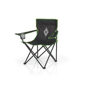 BMG Campingstuhl faltbar 80x50cm schwarz/grün mit Logo