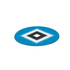 HSV Aufkleber 3D 8,5cm blau/weiß/schwarz