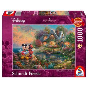Schmidt Kinkade- oder Secret-Puzzle 1000 Teile